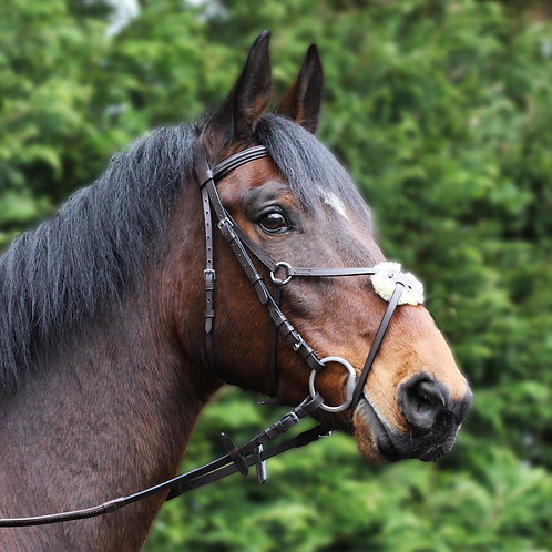 Gallop Leather Grackle Bridle
