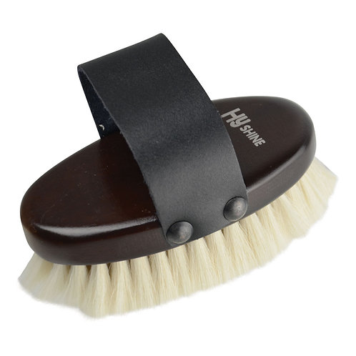 HySHINE Goat Hair Body Brush Small