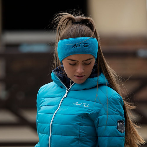 Mark Todd headband/Earwarmer Petrol Blue
