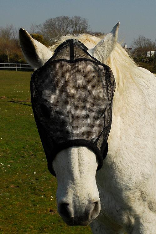 Windsor Equestrian Basic Mesh Fly Mask - Black