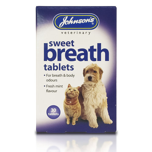 Johnsons Veterinary Sweet Breath Tablets