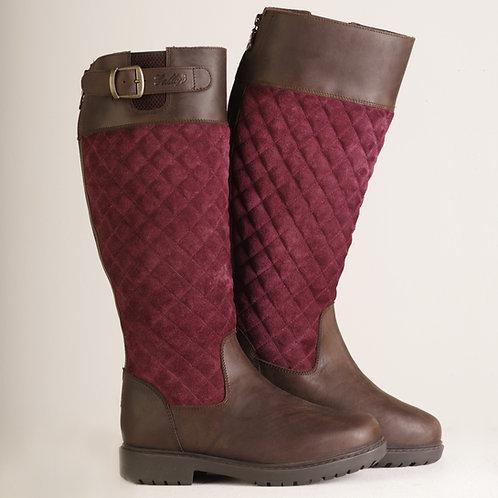 Gallop Cumbria Boots Burgundy