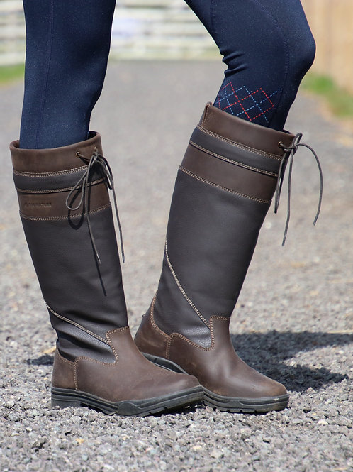 Hy Signature Waterproof Leather Country Boots
