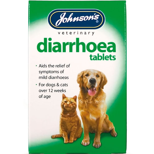 Johnsons Veterinary Diarrhoea, Cats & Dogs, 12's
