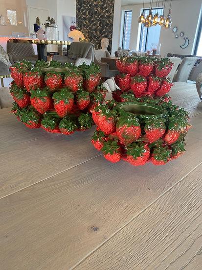 Vase Erdbeere