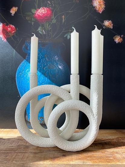 Kerzenständer Rings