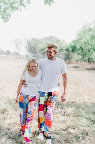 Kikoy Unisex Patch trousers