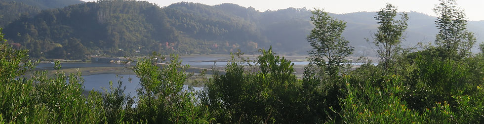 South Western view of the Knysna Lagoon and River