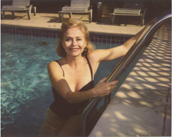 Jill in Her Hollywood Pool