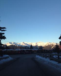 Mountains Sunset