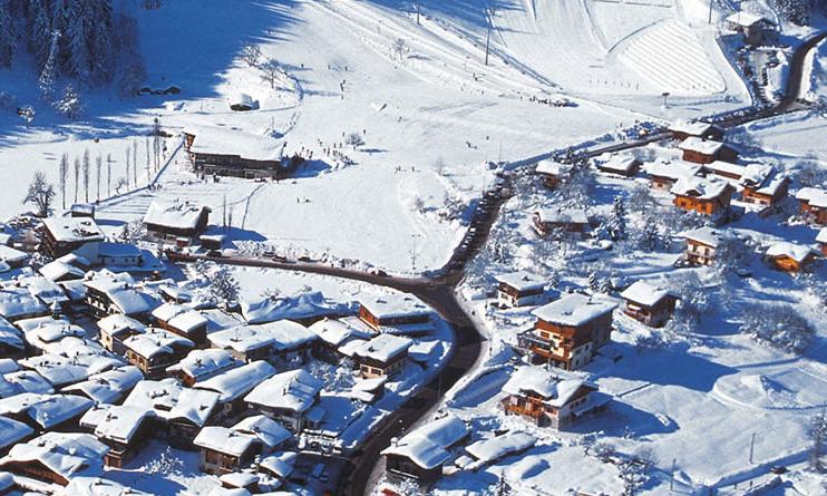 Aerial of Le Praz