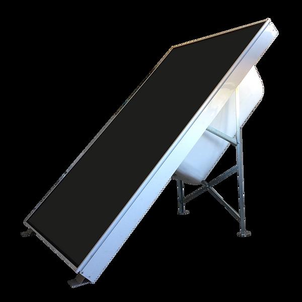 Termosifon integrado panel solar colector solar agua caliente energia solar termic