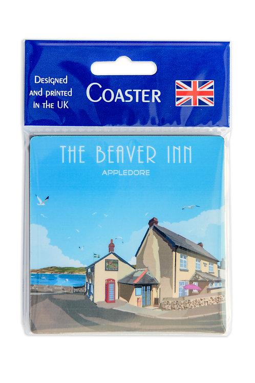 Beaver Inn Coaster