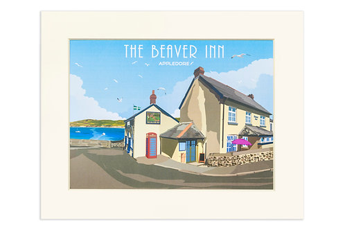 Framed Print - The Beaver Inn