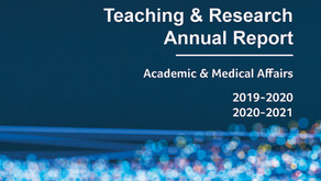 RVH Teaching & Research Report 2019-'21 available