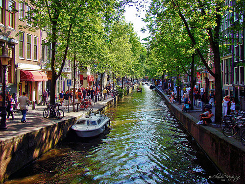 Amsterdam, the world in sounds