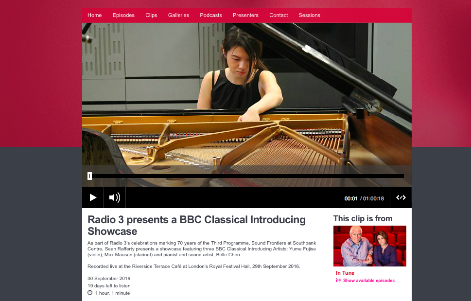 BBC Radio 3: 70th Anniversary
