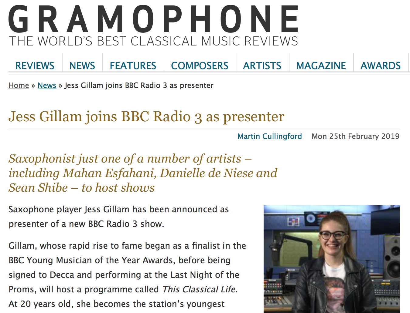 Gramophone: This Classical Life