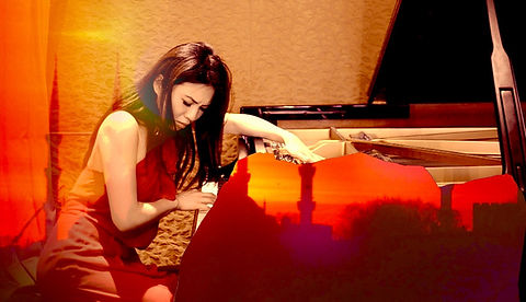 Belle Chen pianist Global Soundscapes promotional image.