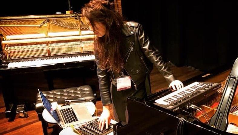 Belle Chen Soundcheck De Doelen classica