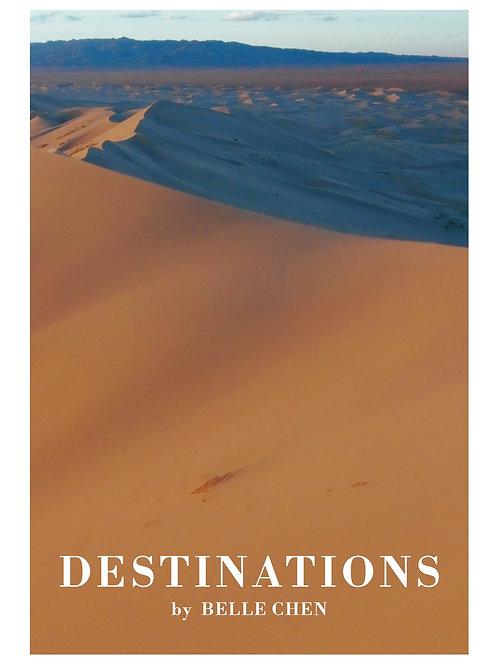 Destinations - Printed Piano Score Book