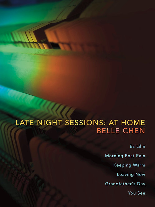 Late Night Sessions: At Home - Printed Piano Score Book