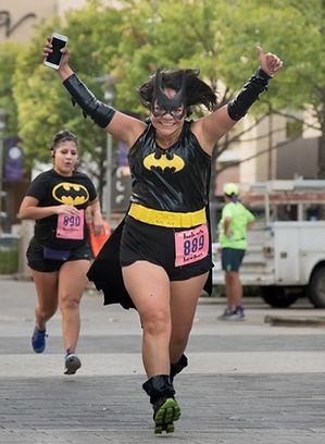 2016 Superhero Run raceer - Bat Girl