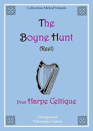 """Partition """"The Boyne Hunt"""" (Reel) pour Harpe Celtique"""