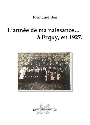 L'année de ma naissance... à Erquy, en 1927
