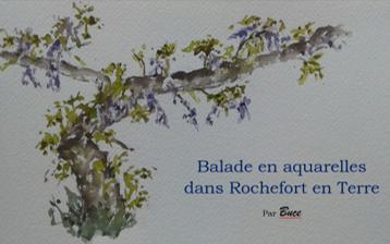 Balade en Aquarelles dans Rochefort en Terre