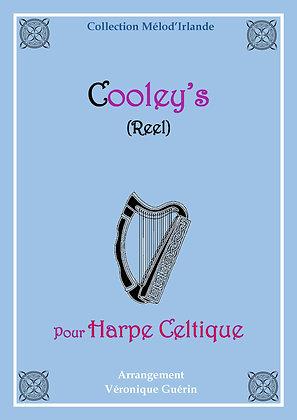 """Partition """"Cooley's"""" (Reel) pour Harpe Celtique"""