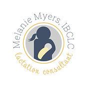 Melanie Myers - Alt Color Logo - Square