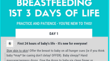 Breastfeeding FREEBIE