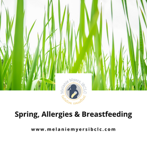 Spring, Allergies & Breastfeeding