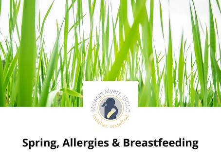 Spring, Allergies & Breastfeeding