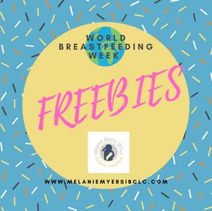 World Breastfeeding Week FREEBIES!