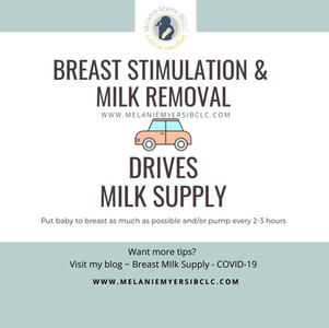 Breast Milk Supply COVID-19