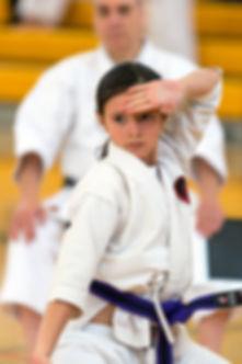 Keiko Martial Arts girl, kids karate