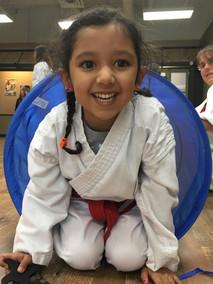 Childen's Karate Drill
