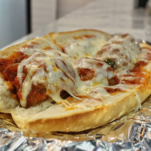 Nothing sexier than a meatball parm in the morning!