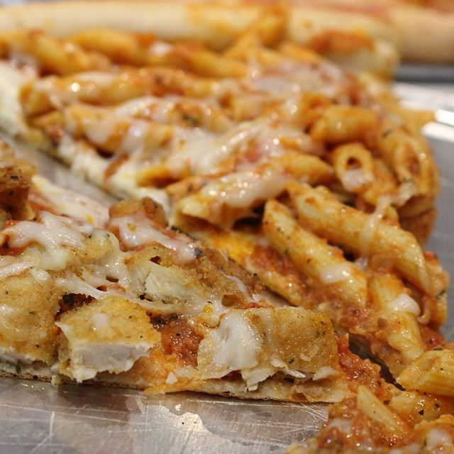Chicken or penne slice? You pick!