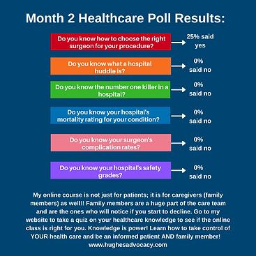 Hughes Advocacy Healthcare Survey, Online Course