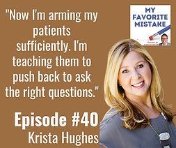 Hughes Advocacy - My Favorite Mistake