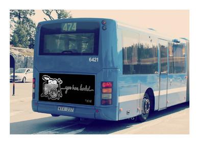 TYCHO Bus Advertisement