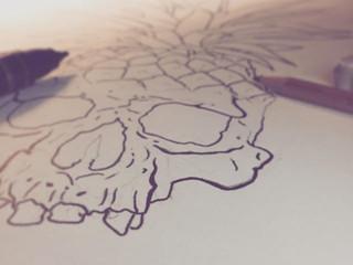 Pineapple Skull? Instagram Request