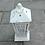 Thumbnail: MD015a-  Distressed cream lantern S