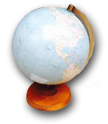 MD091 - Vintage Globe