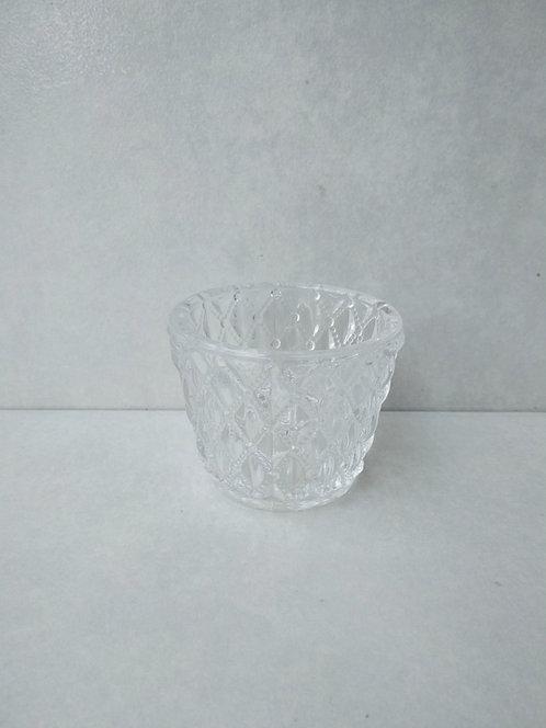 MD019b - Diamond Glass Votive