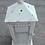Thumbnail: MD015b-  Distressed cream lantern L
