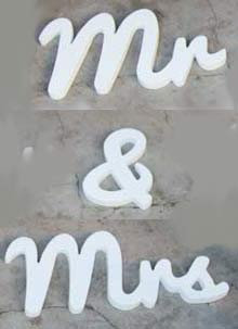 MD067 - Mr & Mrs Wood Words